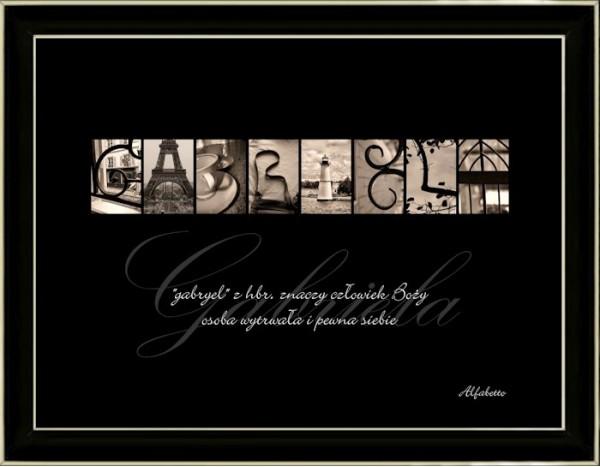 Obraz Gabriela